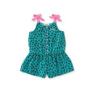 Juicy Couture Animal Print Romper 4T toddler
